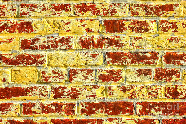 Wall Art - Photograph - The Yellow Brick Wall by Olivier Le Queinec