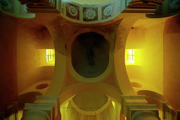 Photograph - The Yellow Light Church 4 - La Chiesa Della Luce Gialla 4 by Enrico Pelos