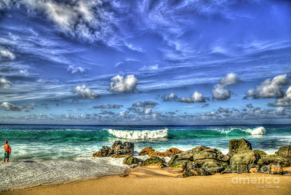 Photograph - The Young Surfer North Shore Oahu Surfing Hawaii Collection Art by Reid Callaway