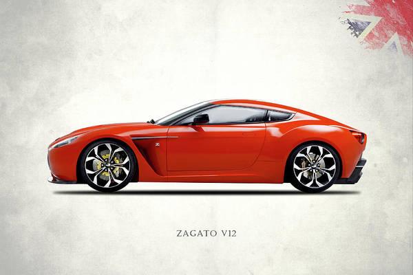 Wall Art - Photograph - The Zagato V12 by Mark Rogan