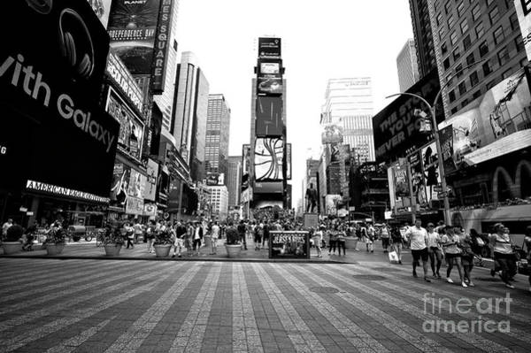 Photograph - Theater District by John Rizzuto