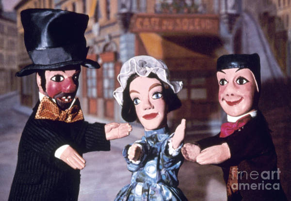 Photograph - Theater: Puppet Characters by Granger