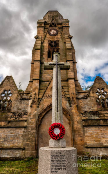 Inscription Photograph - Their Name Liveth Forever by Adrian Evans