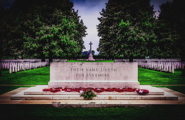 Wall Art - Photograph - Their Name Liveth Forever - Normandy by Pixabay