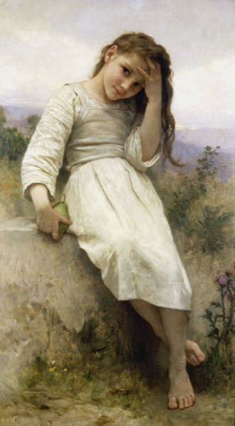 Wall Art - Painting - The_little_marauder_1900 by Adolphe William Bouguereau