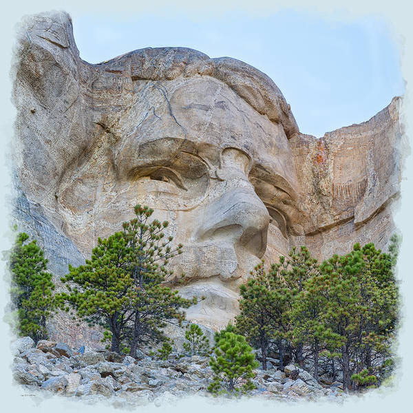 Photograph - Theodore Roosevelt 2 by John M Bailey