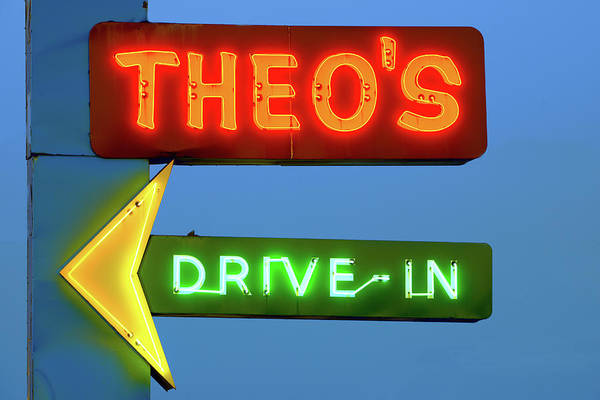 Photograph - Theo's Neon 060218 by Rospotte Photography