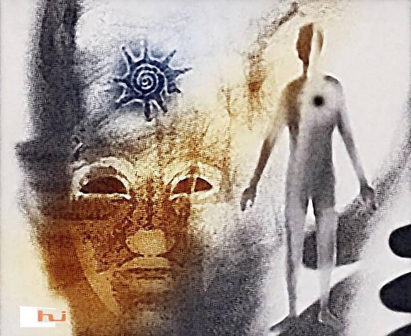 Mixed Media - Thera Of Atlantis by Hartmut Jager