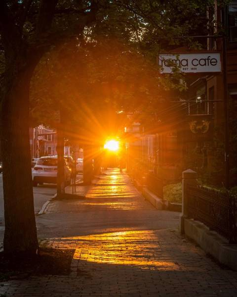 Wall Art - Photograph - There Goes The Sun by Tim Sullivan