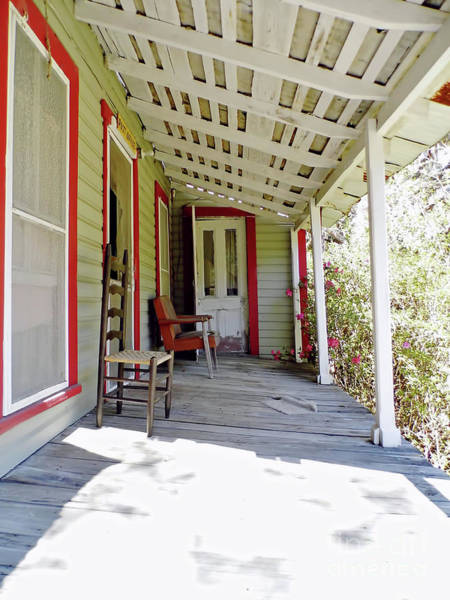 Photograph - There Was A Crooked Porch by D Hackett