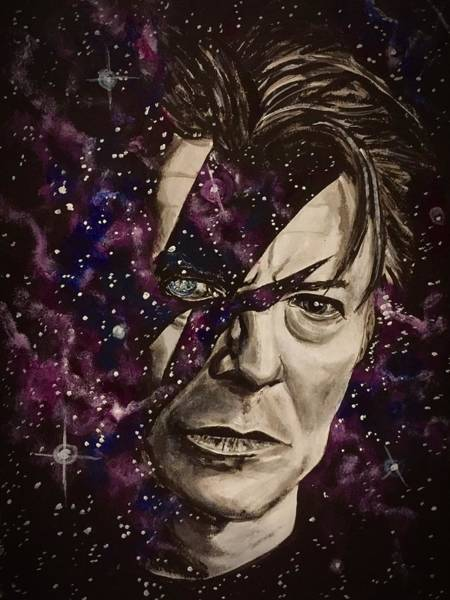 There's A Starman Waiting In The Sky Art Print