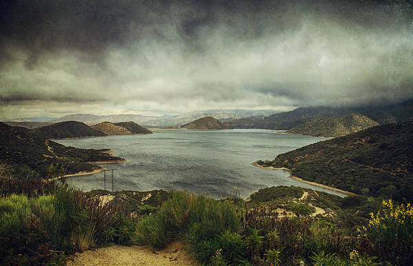 San Bernardino Photograph - There's A Storm Brewing by Laurie Search