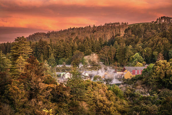 Photograph - Thermal Village Rotorua by Racheal Christian