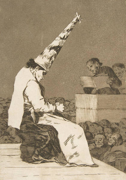Relief - These Specks Of Dust by Francisco Goya