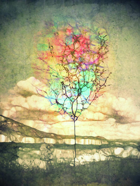 Distortions Digital Art - These Watercolour Dreams by Tara Turner