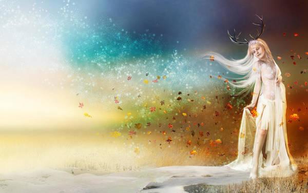Frost Digital Art - They Call Me Winter by Karen Koski