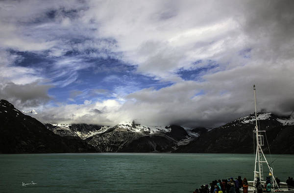 Wall Art - Photograph - They Came To See The Glacier by Madeline Ellis