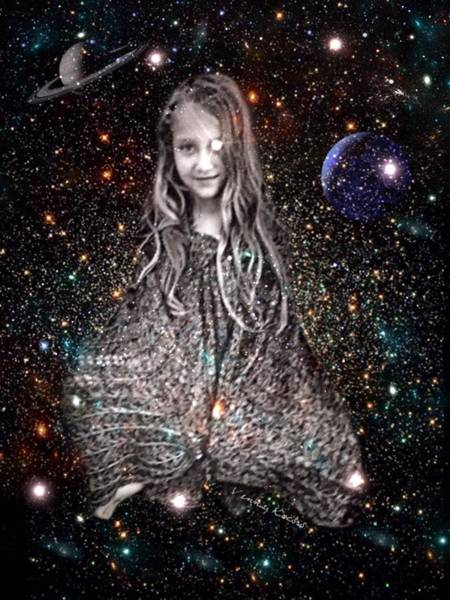 Digital Art - They Come From The Stars by Vennie Kocsis