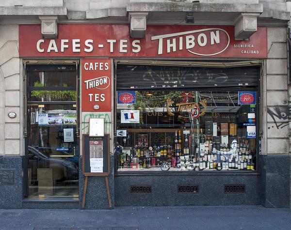 Cabildo Wall Art - Photograph - Thibon Cafe by Hans Wolfgang Muller Leg