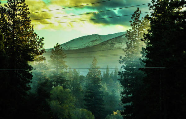 Photograph - Thick Smoke In The Smokey Mountains by Chaznik Raab