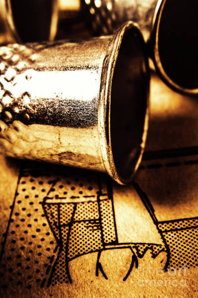 Repair Photograph - Thimble By Design by Jorgo Photography - Wall Art Gallery
