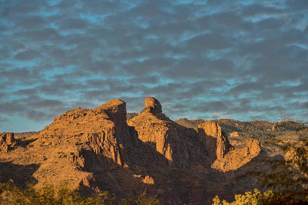 Photograph - Thimble Peak During Golden Hour by Dan McManus