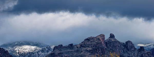 Photograph - Thimble Peak Snow by Dan McManus