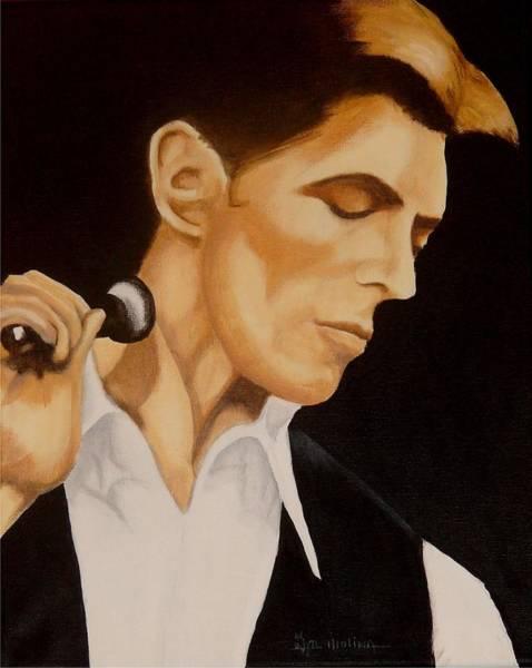 David Bowie Painting - Thin White Duke by Al  Molina