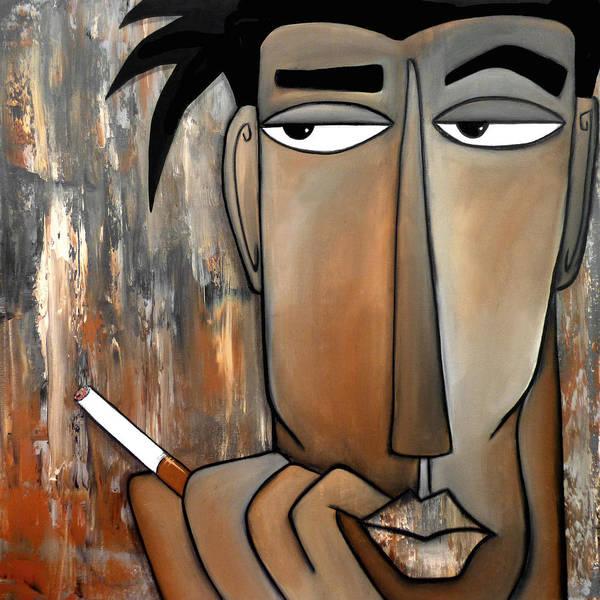 Wall Art - Painting - Think Again by Tom Fedro - Fidostudio