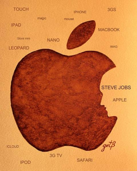 Think Different Steve Jobs 2 Art Print