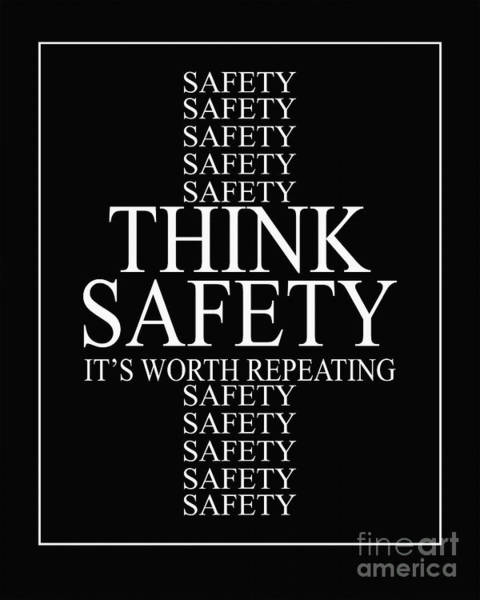 Quotation Painting - Think Safety by Gull G