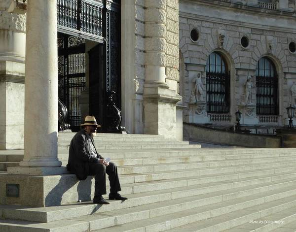 Photograph - Thinking In Vienna by Coleman Mattingly