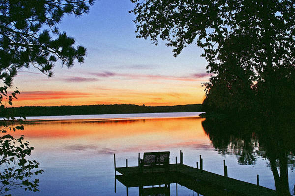 Lake Sunset Photograph - Thinking Of You by Bill Morgenstern