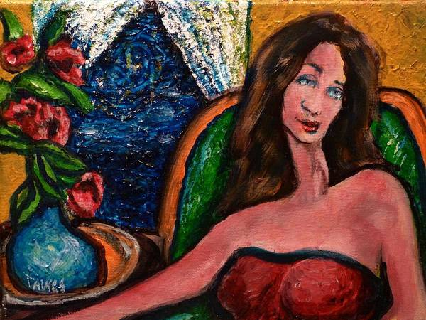 Painting - Thinking Of You by Dennis Tawes