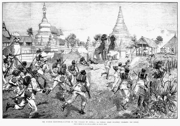 Photograph - Third Burmese War, 1885 by Granger