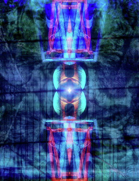 Neon Lights Digital Art - Third Eye by Wim Lanclus