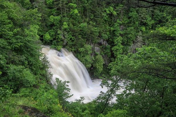 Photograph - Third Falls by Chris Berrier