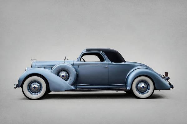 Wall Art - Digital Art - 1936 Lincoln Model K Series 300 by Douglas Pittman