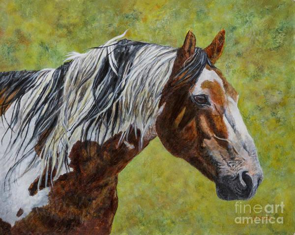 Steed Painting - Thirty Winters by Linda Briesacher