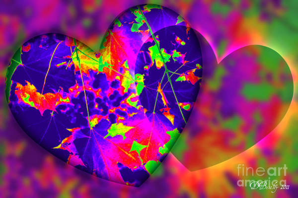 Digital Art - This Hearts For You by Donna Bentley