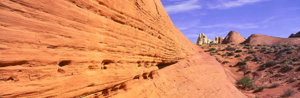 Valley Of Fire Photograph - This Is Nevadas First State Park In Red by Panoramic Images