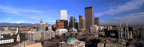 Mile High City Photograph - This Is The Skyline, State Capitol by Panoramic Images