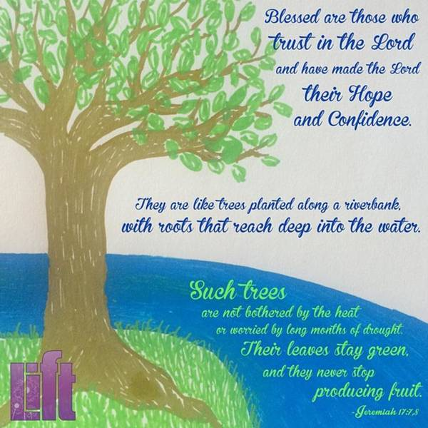 """Design Wall Art - Photograph - This Is What The Lord Says: """"cursed by LIFT Women's Ministry designs --by Julie Hurttgam"""