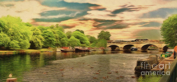 Photograph - This Morning On The River by Leigh Kemp