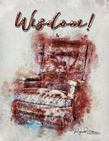 Photograph - This Old Chair by Reynaldo Williams