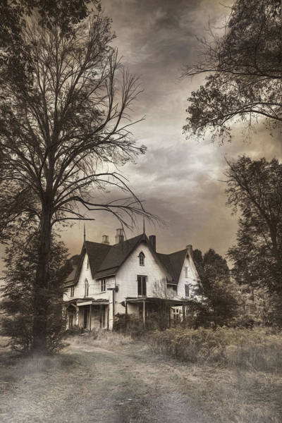 Photograph - This Old House by Robin-Lee Vieira