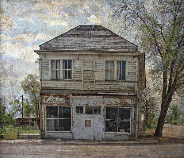 Photograph - This Old Store by Thom Zehrfeld