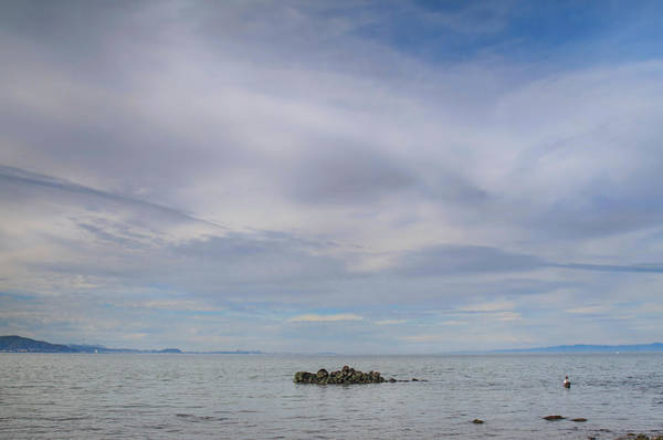 San Francisco Bay Area Photograph - This Vast Silence by Laurie Search