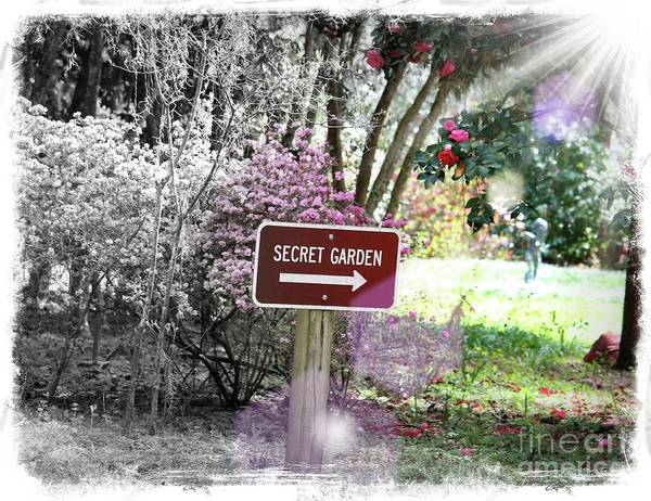 Wall Art - Photograph - This Way To The Secret Garden by Carol Groenen