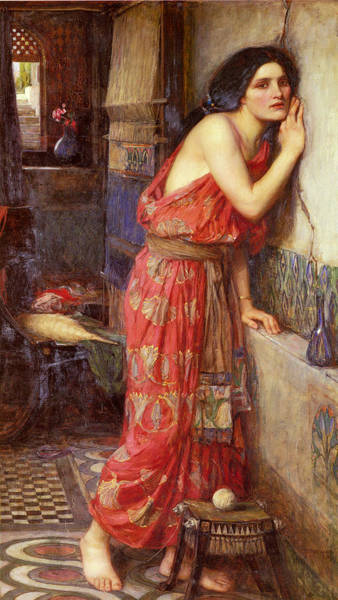 Wall Art - Painting - Thisbe by John William Waterhouse